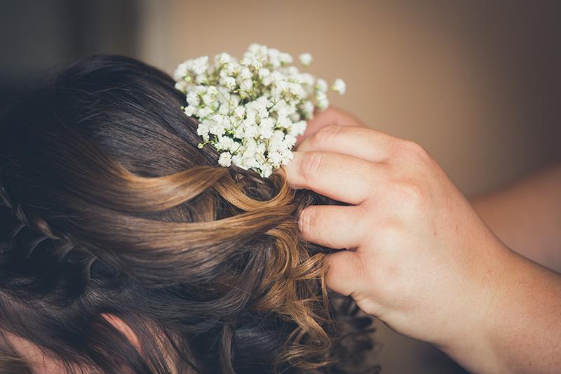 Esküvői fotózás - Készülődés