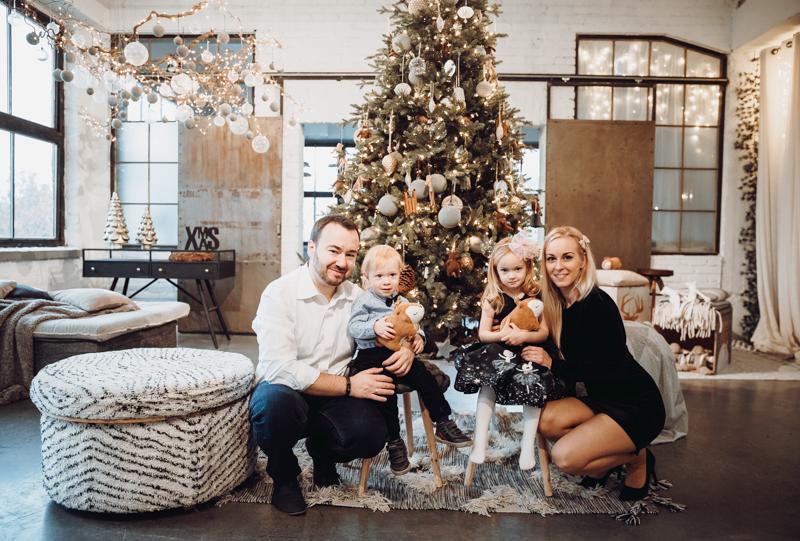Karácsonyi családi fotózás Budapest