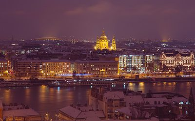 Winter Budapest